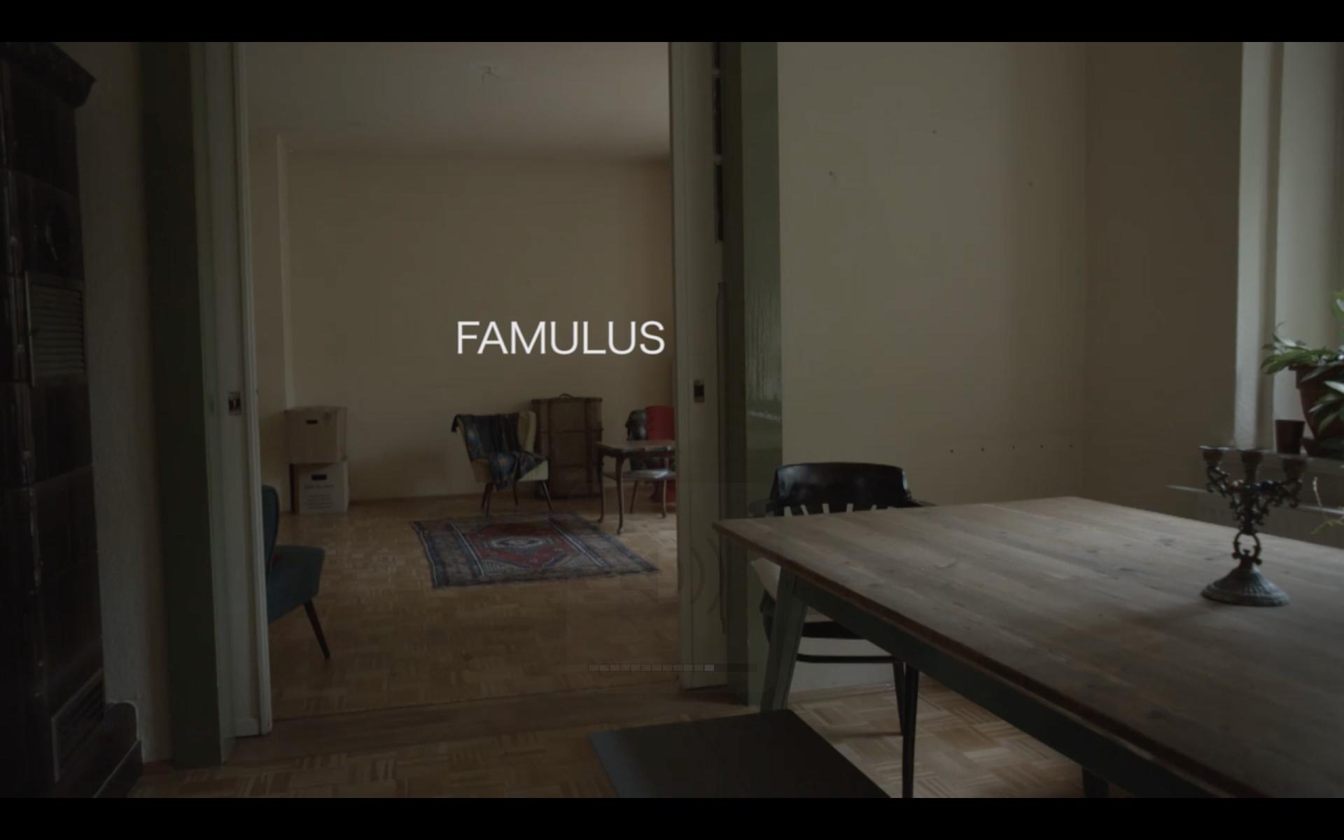 ELLA JOSEPHINE EBSEN »Famulus« Shortfilm