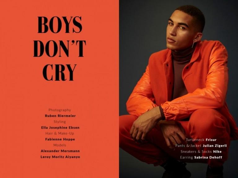 ELLA JOSEPHINE EBSEN Œ Magazine – Boys Don´t Cry